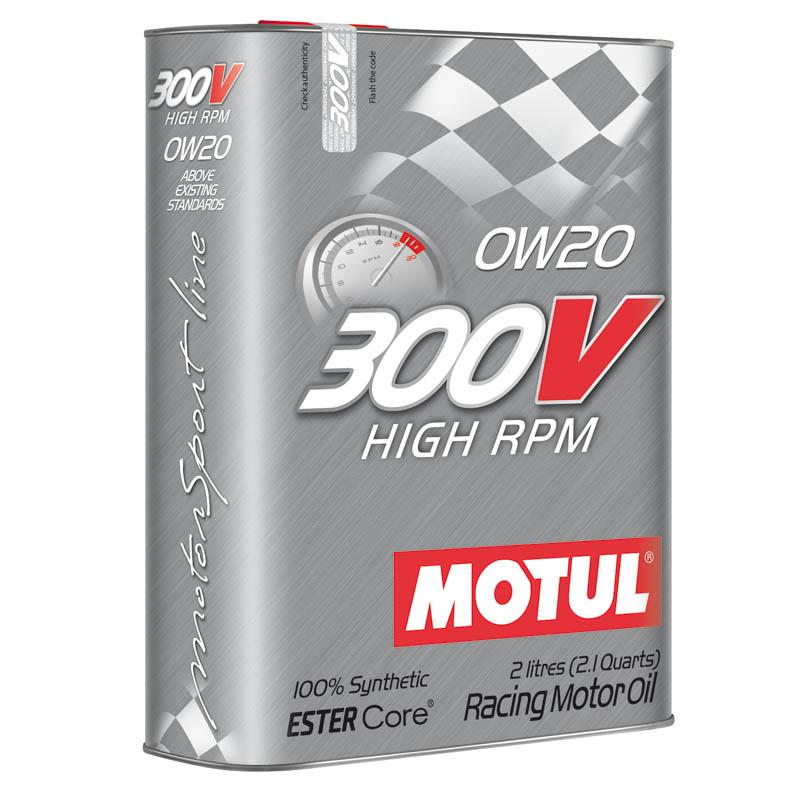 MOTUL 300V HIGH RPM 0W-20